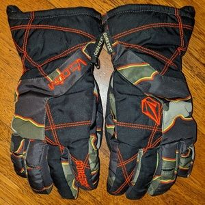 Volcom Full Pipe Gore Tex Gloves S, Military Camo